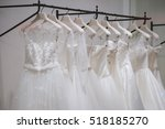 wedding dresses | Shutterstock . vector #518185270