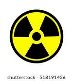 the radiation icon. radiation...   Shutterstock .eps vector #518191426