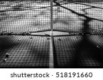 abstract tennis court center... | Shutterstock . vector #518191660