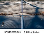 abstract tennis court center... | Shutterstock . vector #518191663