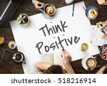 be positive think optimistic