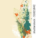 vector grunge background   Shutterstock .eps vector #51821842