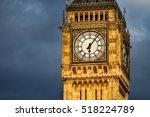 Close Up Big Ben At Early...