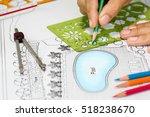 landscape architect designs... | Shutterstock . vector #518238670