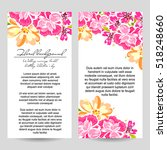 vintage delicate invitation... | Shutterstock .eps vector #518248660
