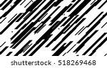 black diagonal lines on white... | Shutterstock .eps vector #518269468