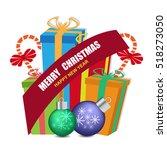 christmas sale banner | Shutterstock .eps vector #518273050