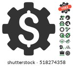 development cost pictograph... | Shutterstock .eps vector #518274358