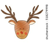 christmas icon image  | Shutterstock .eps vector #518279998