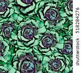 roses.seamless background.... | Shutterstock . vector #518284276