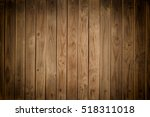 old brown wooden wall  detailed ... | Shutterstock . vector #518311018