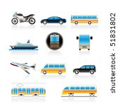 travel and transportation of... | Shutterstock .eps vector #51831802