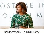 Small photo of NEW YORK-MAY 5: First Lady of the United States Michelle Obama speaks at the Anna Wintour Costume Center Grand Opening at the Metropolitan Museum of Art on May 5, 2014 in New York City.