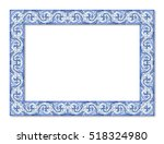 frame design with typical...   Shutterstock . vector #518324980