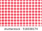 Red Picnic Cloth Pattern...