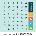 medical icon healthy care icon ... | Shutterstock .eps vector #518353204