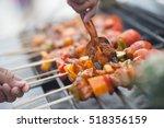 a delicious roast beef | Shutterstock . vector #518356159