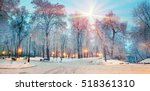 ukrainian parks are famous for... | Shutterstock . vector #518361310