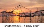 Sunrise At Pak Pra Lake...
