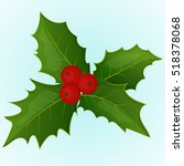 Christmas Holly Berry. Simple...