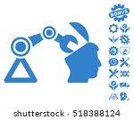 open head surgery manipulator... | Shutterstock .eps vector #518388124