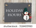 old fashion christmas store... | Shutterstock . vector #518405983