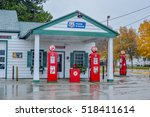 odell  il usa   may 4  restored ... | Shutterstock . vector #518411614