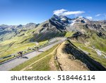 Cyclists On The Gro  Glockner...