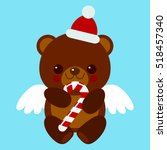 Christmas Teddy Bear With...