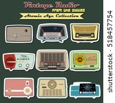 Retro Vintage Radio Set...
