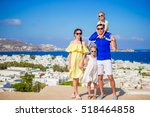 family vacation in europe.... | Shutterstock . vector #518464858