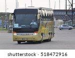 klaipeda lithuania july 11 bus... | Shutterstock . vector #518472916