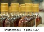 top of plastic bottles with... | Shutterstock . vector #518514664