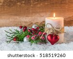 Romantic Christmas Candle With...