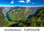 view from above the sumidero... | Shutterstock . vector #518526238