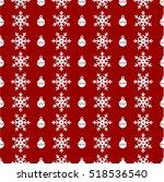 christmas snowflake theme | Shutterstock .eps vector #518536540