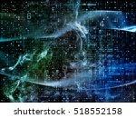 digital grid series. backdrop... | Shutterstock . vector #518552158
