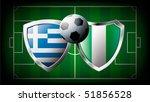 greece versus nigeria abstract...   Shutterstock .eps vector #51856528