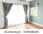 curtain interior decoration in... | Shutterstock . vector #518568634