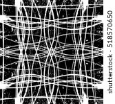 distress wavy line and grid... | Shutterstock .eps vector #518570650