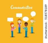 cartoon people with...   Shutterstock .eps vector #518578189