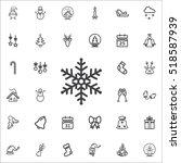 snowflake icon on the white...