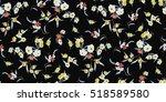 trendy seamless floral pattern... | Shutterstock .eps vector #518589580