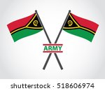 vanuatu emblem army | Shutterstock .eps vector #518606974