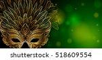 vector illustration. golden... | Shutterstock .eps vector #518609554