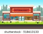 a vector illustration of a... | Shutterstock .eps vector #518613133