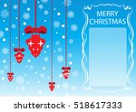 seasonal background  template... | Shutterstock .eps vector #518617333