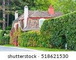 Quaint Roadside House With...