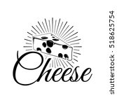 cheede lettering. the isolated... | Shutterstock .eps vector #518625754
