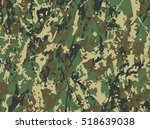 abstract military camouflage... | Shutterstock .eps vector #518639038